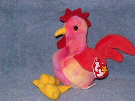 Strut the Rooster Ty Beanie Baby Retired - $5.00