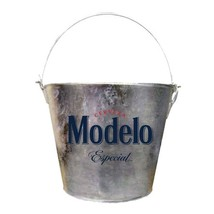 Modelo Especial Beer Bucket With Built In Bottle Opener Metallic - €23,06 EUR