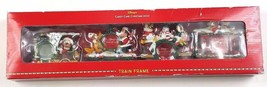 Disney Store Candy Cane Christmas 2000 Train Frame Set Mickey Mouse Friends NEW - $46.74