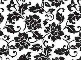 tkcathyschaos 100 Damask Cellophane Black Floral Brocade Weddings Favors Cello G - $47.52