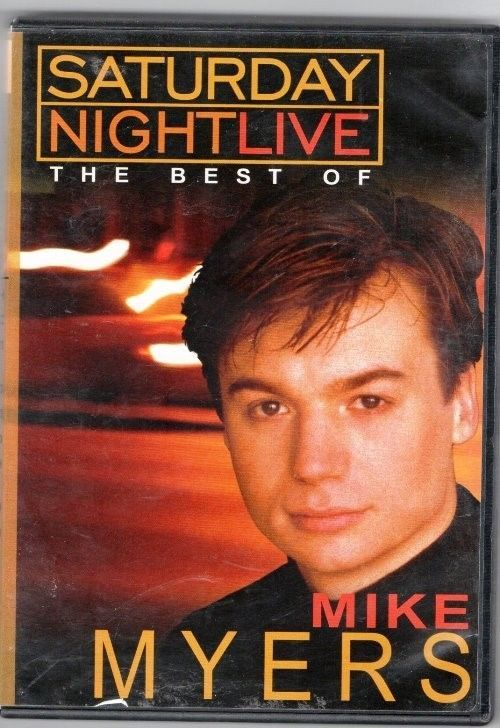 """DVD """"SHOW"""" Saturday Night Live;The Best Of Mike Myers. NBC's"""
