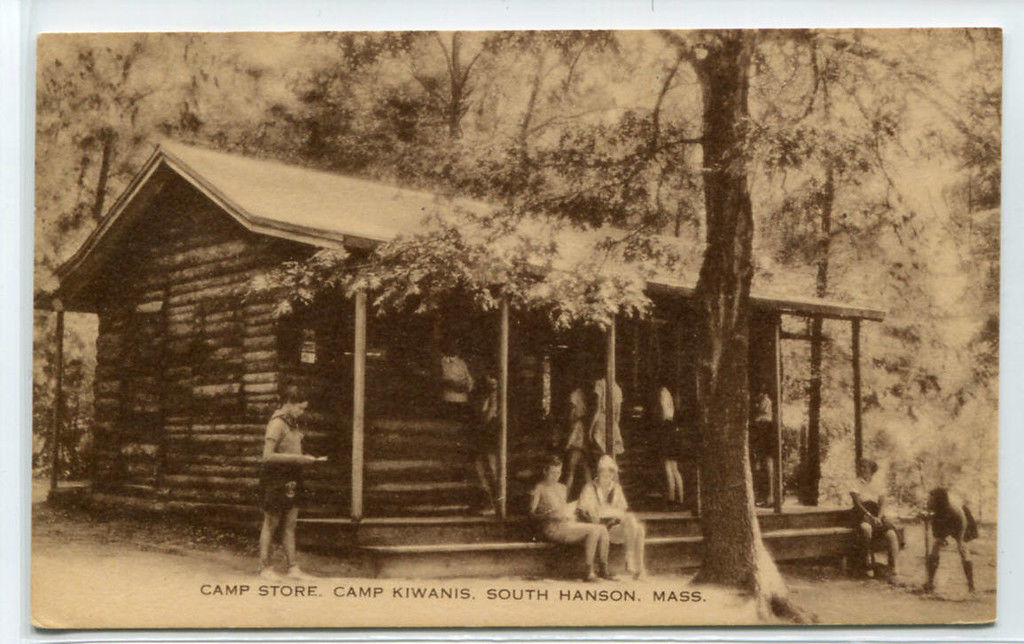 Primary image for Camp Store Camp Kiwanis South Hanson Massachusetts postcard