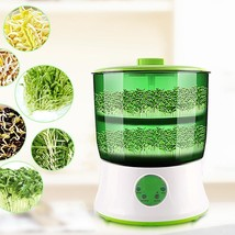 Bean Sprouts Machine Automatic Intelligence Electronical Seed Sprouts M... - $976,71 MXN