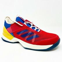 Adidas Adizero Ubersonic 3 Pharrell Williams Red Blue S81005 Womens Tennis Shoes - $79.95