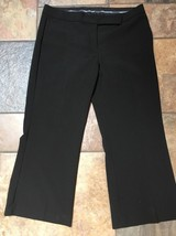 Woman's Express Design Studio Editor Black Dress Pants Size 10 X 24 - $19.79