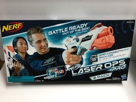 Kids Lazer Tag Indoor Outdoor Game Nerf Laser Ops Pro AlphaPoint 2-Pack - $78.18