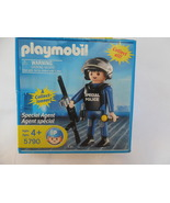 PLAYMOBIL SPECIAL AGENT FIGURE #5790 UNOPENED BOX - $8.95