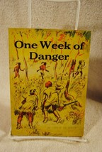 Rare One Week of Danger Cateau De Leeuw 1965 Scholastic Book 6th printing - $22.99