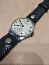 Pobeda 15 Jewels Gold plated mens wrist watch vintage 1954yer USSR RARE original image 6