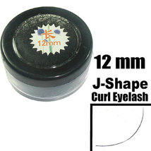 12mm J Shape Individual Extension Eyelashes FREE SHIP - $9.79