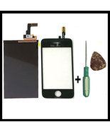 Touch Screen Digitizer + hard display LCD for iPhone 3G - $34.19