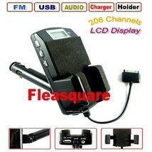 Black 5in1 Car Kit LCD FM Transmitter for Mp3 / iPod - $16.99