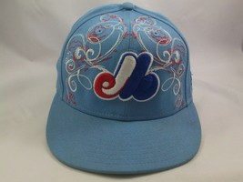 Montreal Expos Cooperstown Collection Hat New Era 7 1/4 Fitted MLB Baseb... - $22.34
