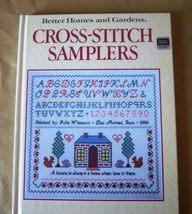 Cross-Stitch Samplers, Better Homes & Gardens HC Book, Patterns, Instruc... - $5.00