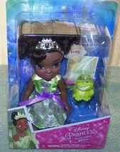 "My First Disney Princess Petite Tiana 6"" Doll & Frog Pet New - $16.50"