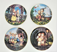 M.J. Hummel Little Companion Collector Plates with Hangers Lot of 4 - $44.01