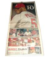 10.31.2010 St Louis POST-DISPATCH Newspaper MLB SPECIAL Cardinals Albert... - $12.99