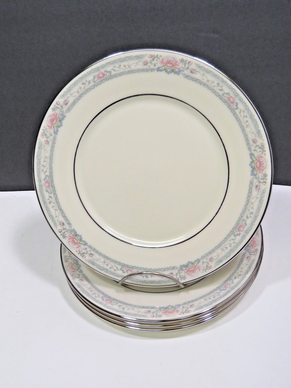 Primary image for Set of 4 Lenox Charleston Salad Lunch Plates 8""