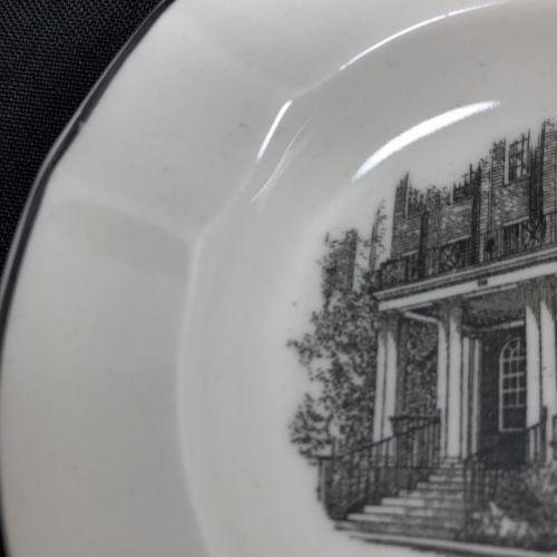 Wedgwood Ethel Walker School Ashtray Change Dish Beaver Brook Dormitory Simsbury image 5