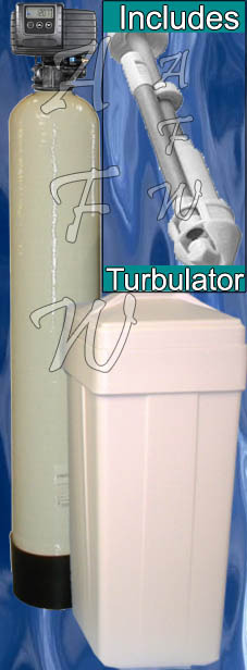40k Fleck 5600SXT Metered Water Softener Turbulator 40,000 grain whole house