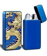 USB Lighter, Electric Arc Plasma Lighter Dragon USB Rechargeable Windpro... - $16.07