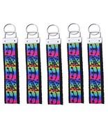 5 Cheer Keychain Bundle, Girls Bulk Cheerleading FOB Wristlet Keychain Gift - $25.00