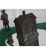 The Villa Cast Iron Bank By Keyser and Rex Company 1882 - $300.00