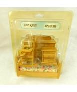 Townsquare Miniatures Bedroom Set 305 Dollhouse Wooden Dresser Rocking C... - $27.99