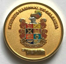 National Army of COLOMBIA JEFIP Financial & Budgetary Leadership Challenge Coin - $74.24