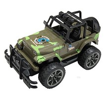 XmasToys Camouflage Remote Control Car Jeep 4WD Shaft Drive Truck Large ... - $40.86