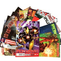 Iron Man 15 Issue Comic Book Lot Marvel Movie Noir Rescue SHIELD Pepper Potts - $29.65
