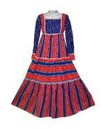 patriotic  Sue Brett junior maxi dress patriotic XXS - $28.50