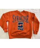 Vintage Syracuse University 1980s 90s Sweatshirt Medium Exc Cond Orangemen - $29.92