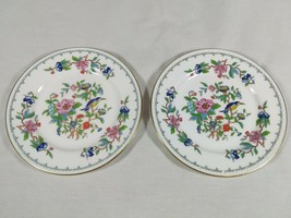 "Aynsley Pembroke Plates Bread & Butter Fine English Bone China Birds 6.25"" - $20.76"