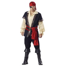 Designer Pirate Outfit Adult Mens Halloween Party Theater Costume M Medium - €79,04 EUR