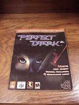 Perfect Dark Prima Strategy Guide Book for the Nintendo 64 platform, N64 - $6.95