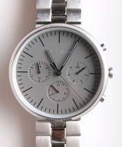 Vince Camuto VC/1098GYSV Men's Stainless Steel Watch preowned
