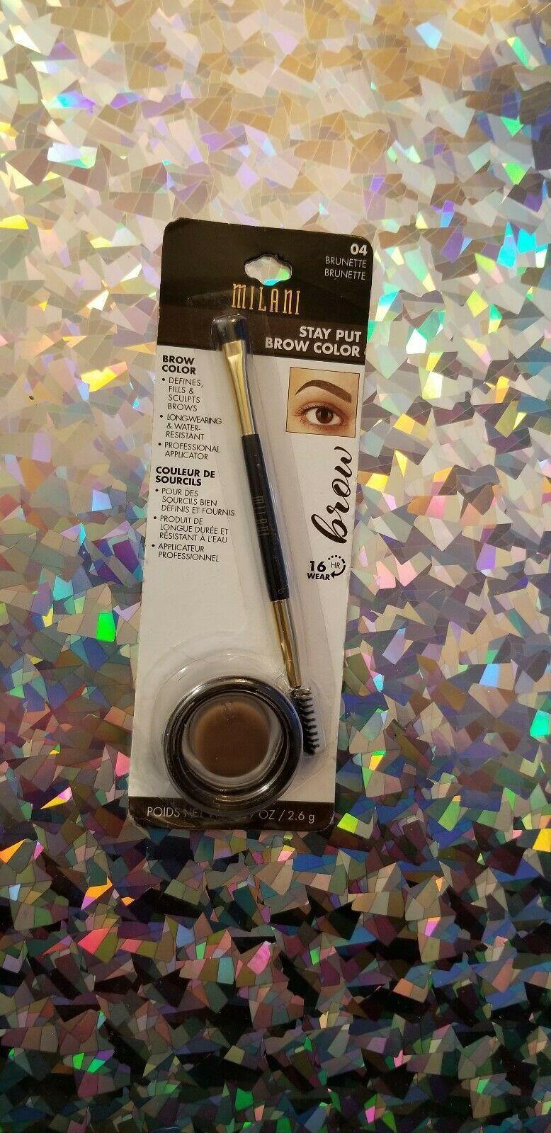 Milani Stay Put Brow Color Brunette 04 - $7.03