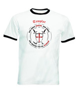 TEMPLAR-NON NOBIS DOMINE .. 012 - NEW BLACK RINGER COTTON TSHIRT - $27.51