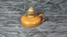 """""""Sterling"""" Tin Oil Lamp Base, Nicely Repaint - $17.59"""