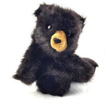 "Folkmanis Baby Black Bear Cub Full Body Plush Hand Puppet 9"" - $17.82"