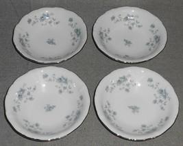 Set (4) Johann Haviland BLUE GARLAND PATTERN Fruit/Berry Bowls - $14.84