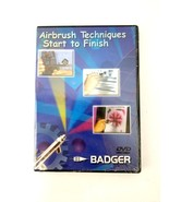 Airbrush Techniques DVD  Start to Finish by Badger Air-brush Co. BD-103 New - $11.26