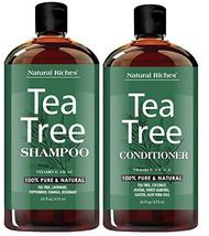 Sulfate free anti dandruff Tea-Tree-Oil Shampoo and Conditioner Set – Ma... - $45.95