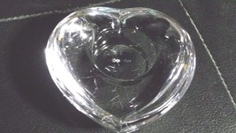 ORREFORS - HEART SHAPED VOTIVE - $8.42