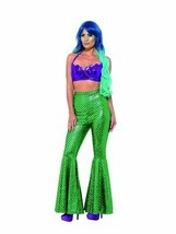 Mermaid Flared Trousers, Fancy Dress, UK Size 8-10 - $35.13