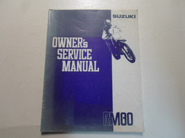 1991 Suzuki RM80 Owners Service Manual Factory Book 91 Water Damaged Faded Stain - $17.81