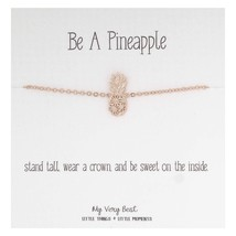 My Very Best Dainty Pineapple Bracelet Be A Pineapple_Stand Tall. wear a... - $47.88