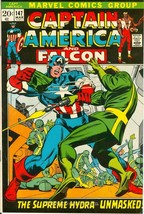 1st Series #188 1975 GD//VG 3.0 Stock Image Low Grade Captain America