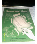 Star Book Conserve With Crochet For The Home #25 American Thread Company Vinta - $2.91